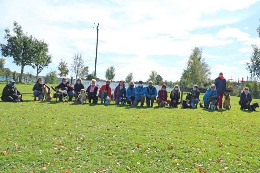 BGVP Prüfung in der Hundeschule Waldstetten Raum Günzburg