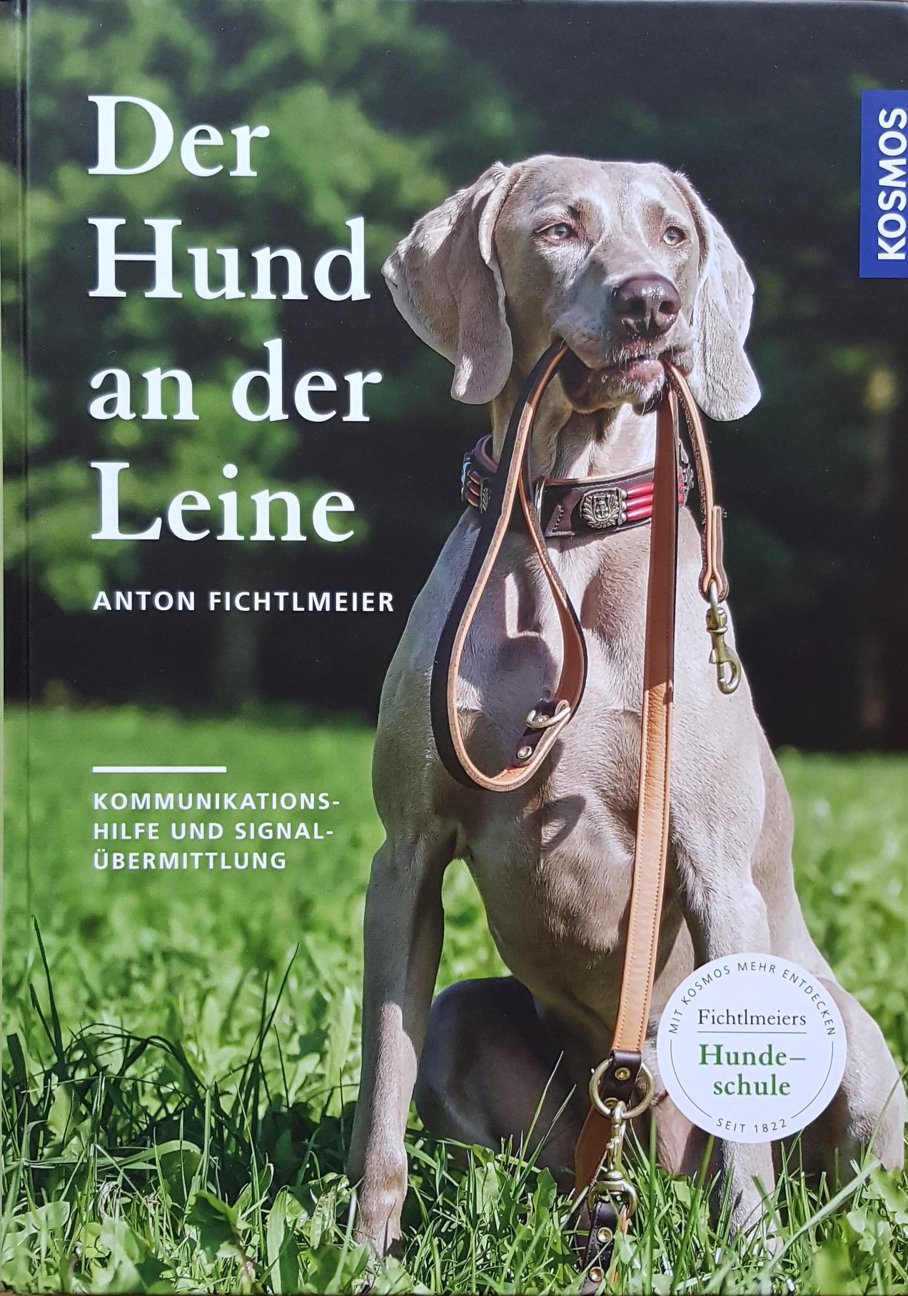 Neues Leinenbuch von Anton Fichtlmeir in der Hundeschule Waldstetten