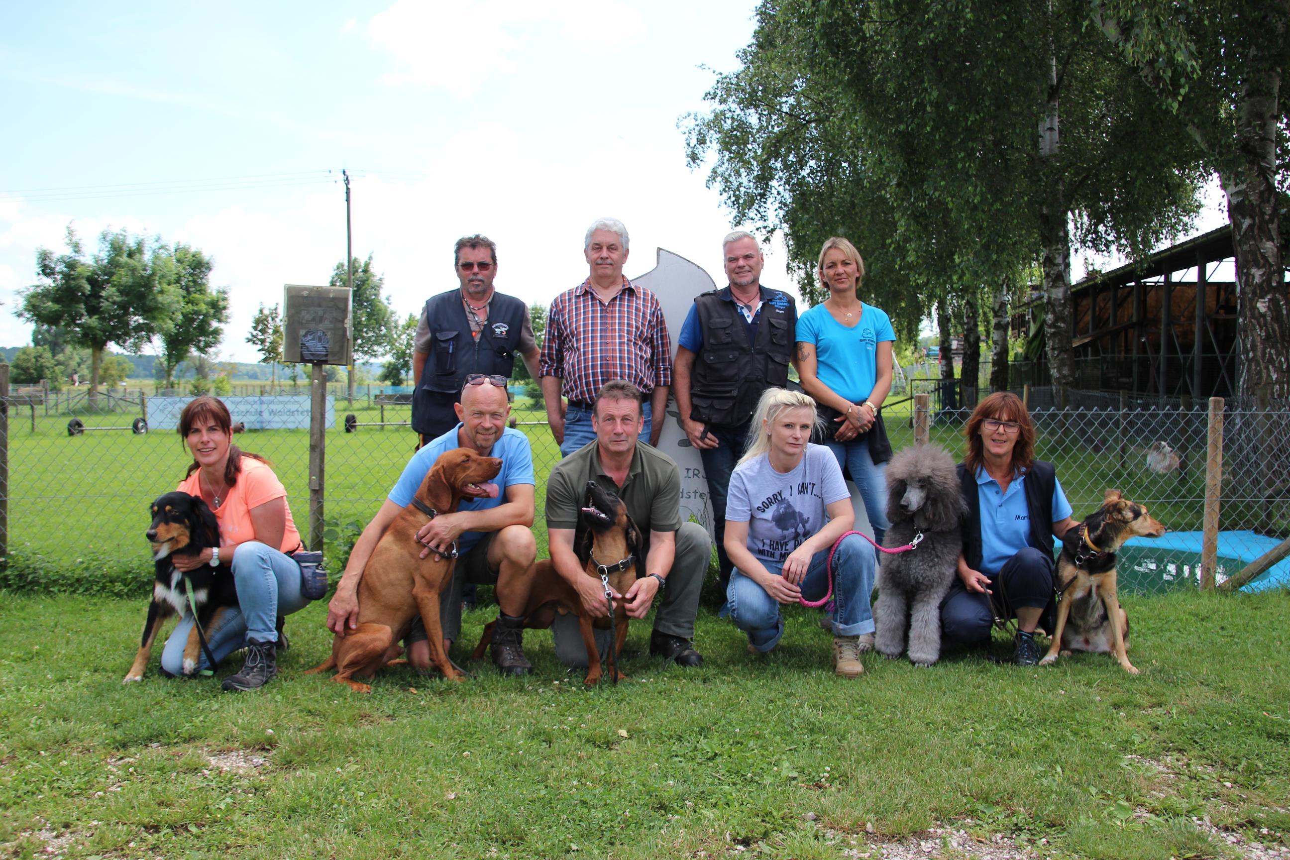 Begleithundeprüfung in der Hundeschule Waldstetten im Raum Günzburg
