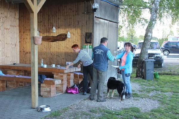 Agility Prüfungen in der Hundeschule Waldstetten